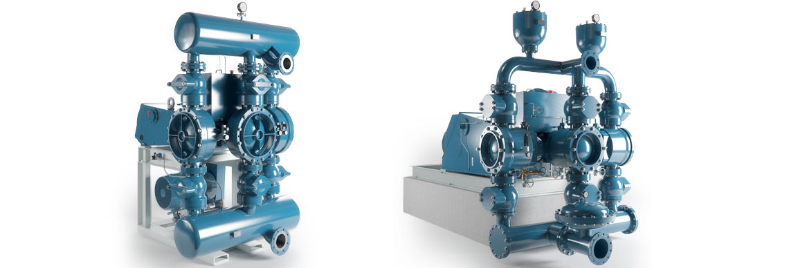 piston diaphragm pump tkm / Kolbenpumpe TKM
